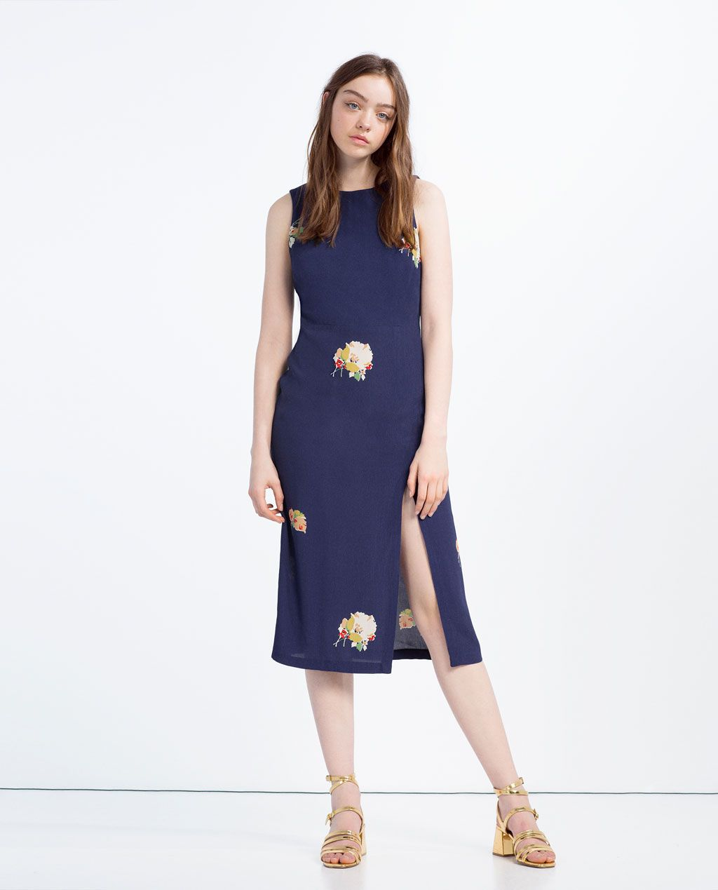 Dress with slits view all dresses woman zara united states dress with slits view all dresses woman zara united states ombrellifo Choice Image