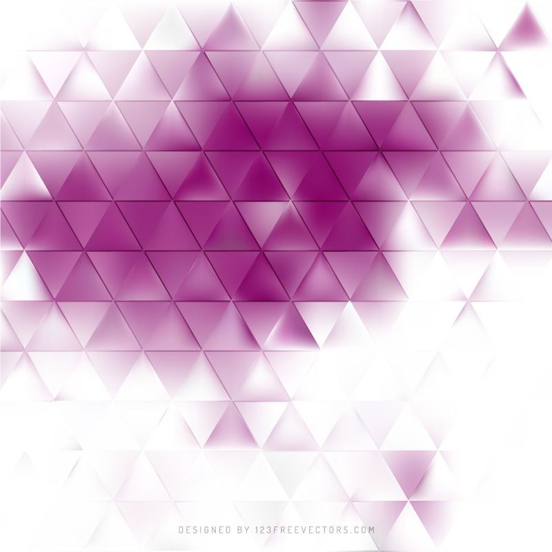 Abstract Light Purple Triangle Background Vector Triangle