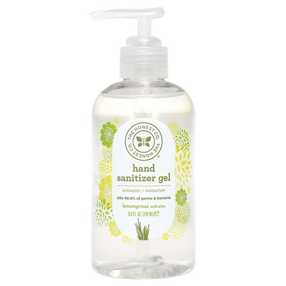 The Honest Company Lemongrass With Aloe Hand Sanitizer Gel 8oz