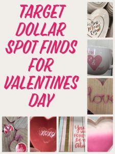 Target Dollar Spot Valentine's Day Finds