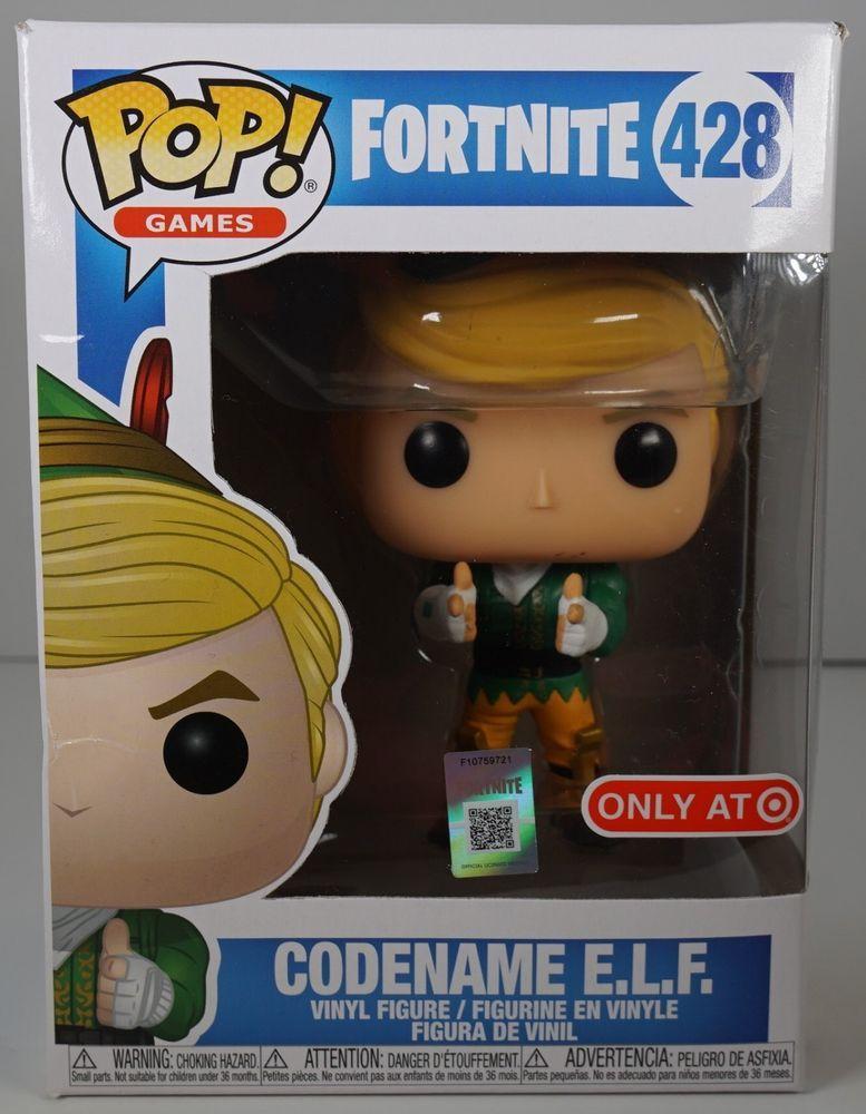 Funko Pop Fortnite Codename Elf 428 Target Exclusive Fortnite