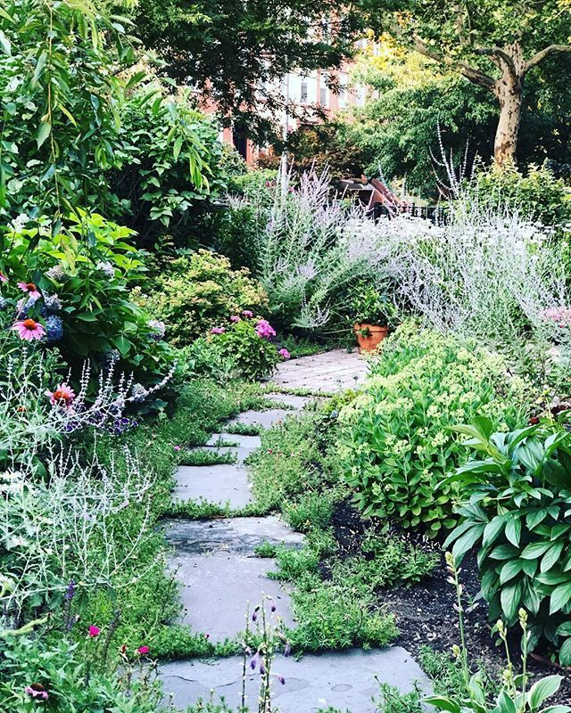 Finding a secret garden in a New York takes me back. I