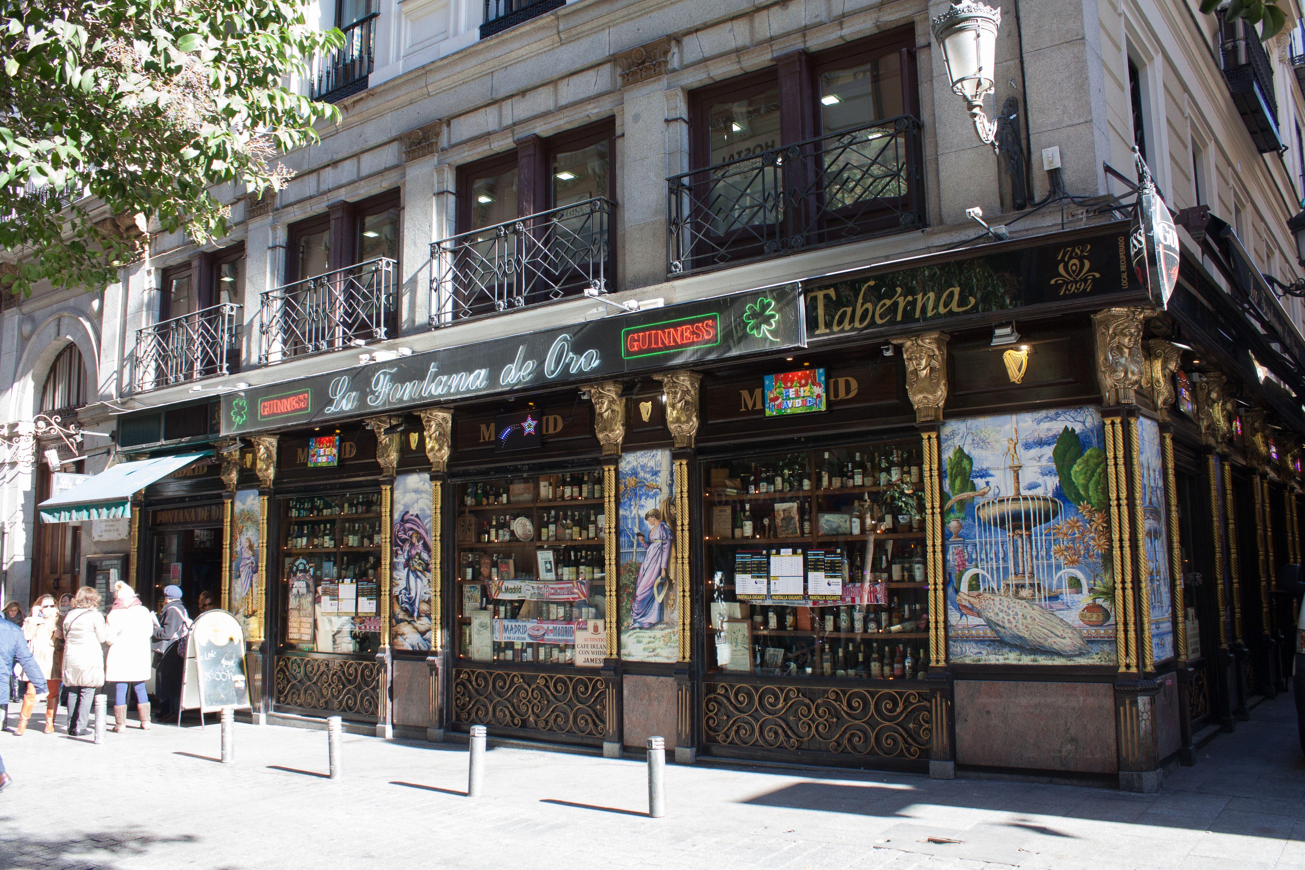 La Fontana De Oro Calle De La Victoria 1 Madrid Fotos Victoria Calle