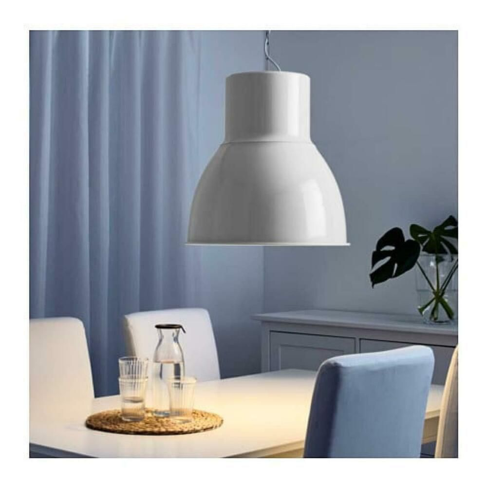 Ikea Hektar Pendant Lamp White 403 262 28 15 New Ebay White