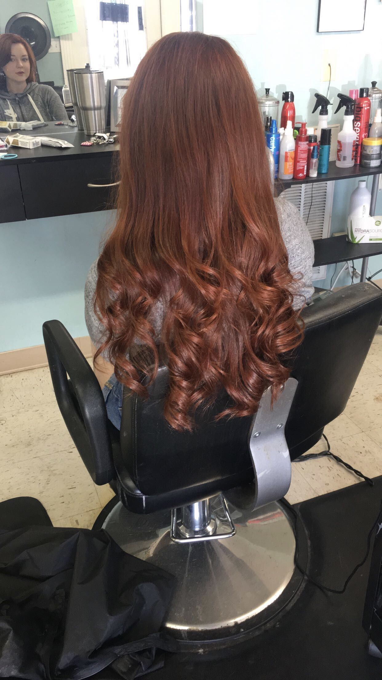 Redken 7cc 7c Over Natural Warm Auburn Brown Hair With Images