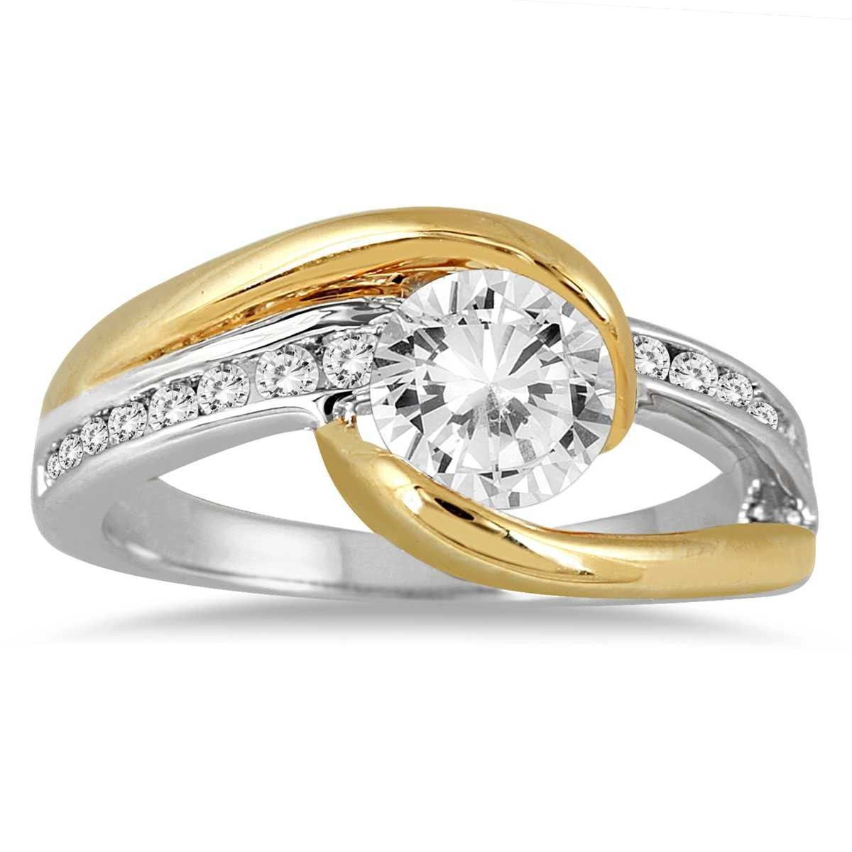 15++ Two tone wedding rings for her ideas