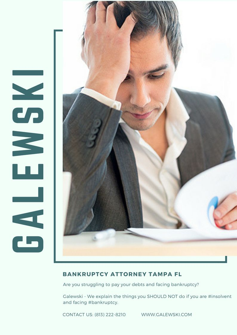 Tampa Mortgage Modification Bankruptcy, Chapter 13, Tampa
