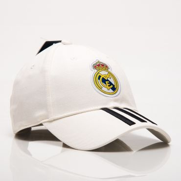 8bcd7563a5b adidas FC Real Madrid 2018-19 3 Stripes Cap