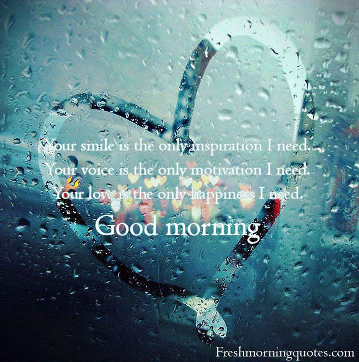 Beautiful Rainy Day Quotes: Good Morning Beautiful I Hope You Had A Good Night I Still