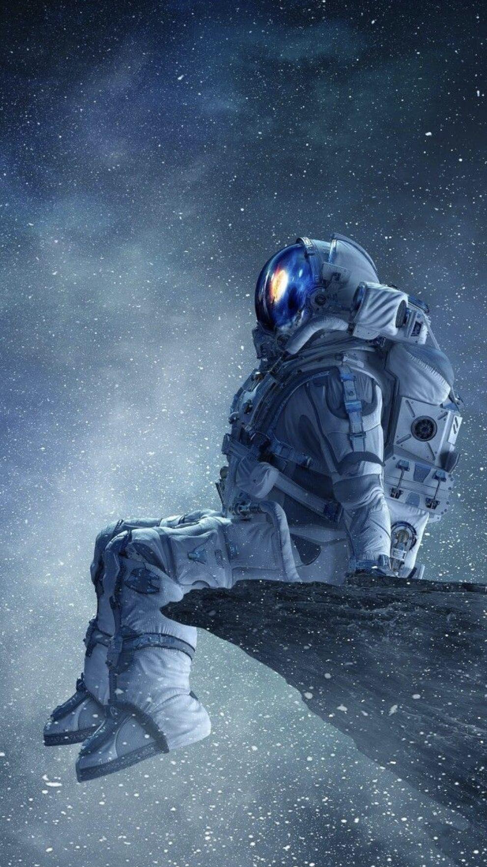 In The Stars Galaxy Wallpaper Uzayda Yolculuk Illustrasyon Posterleri