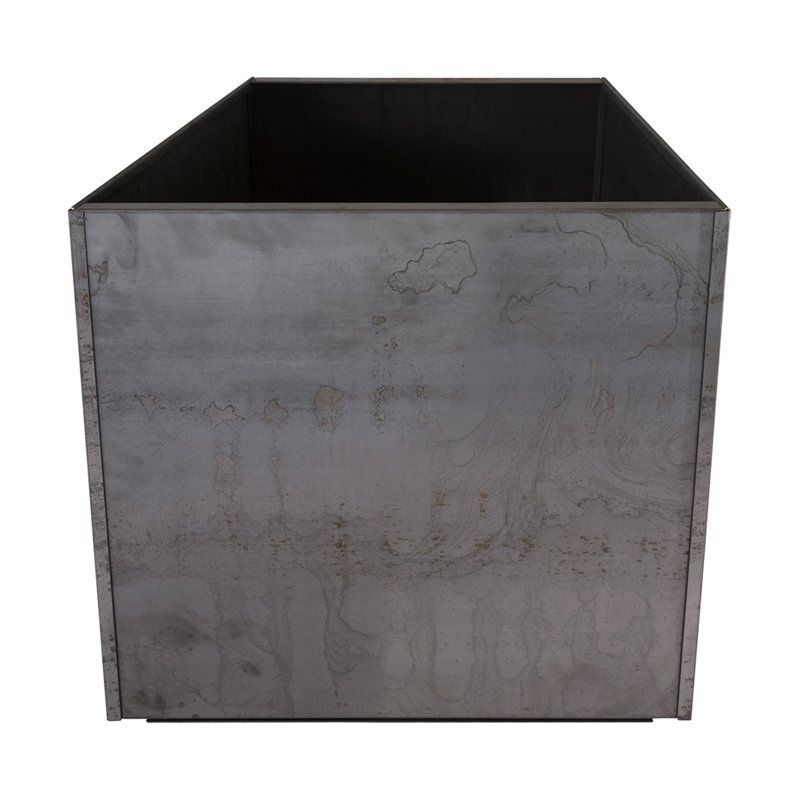 Have to have it. Nice Planter Corten Steel Cube - $169.99 @hayneedle