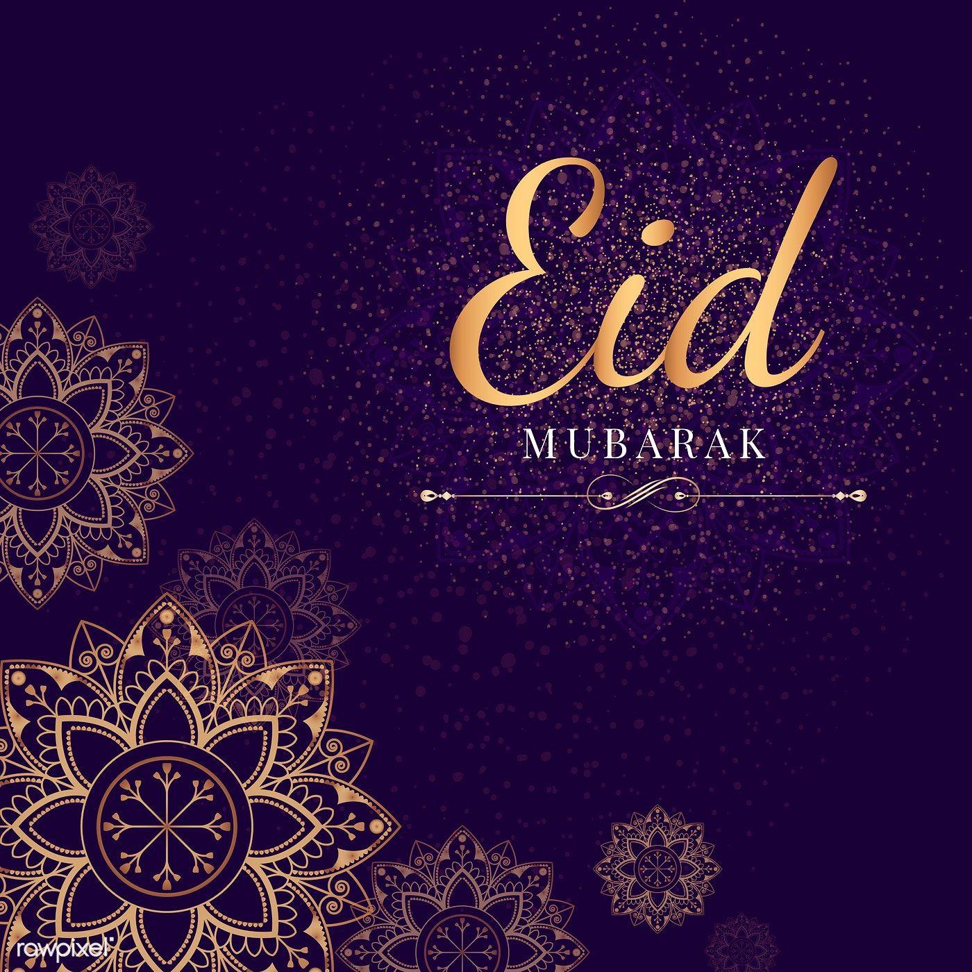 Download Premium Vector Of Eid Mubarak Card With Mandala Pattern Eid Milad Eid Mubarak Card Eid Milad Un Nabi