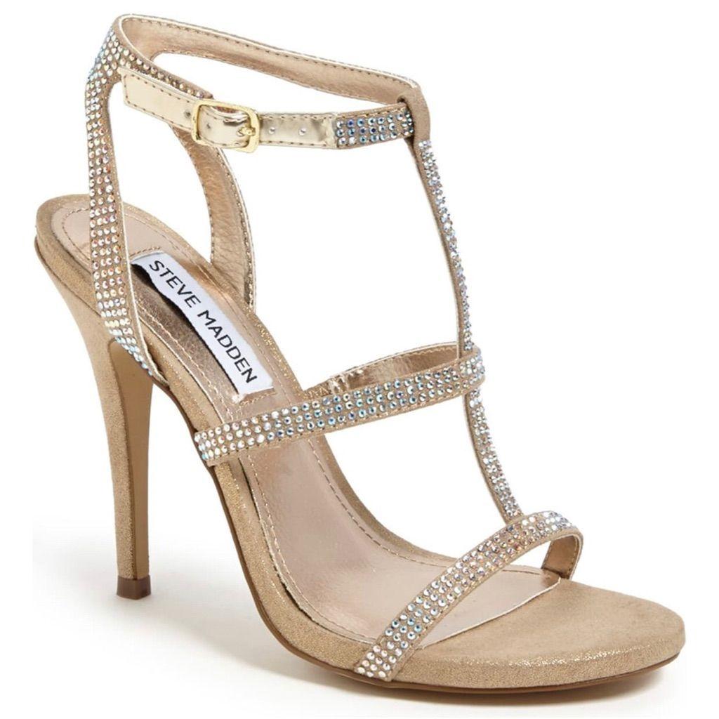 Steve Madden Luulu Heel Sandal In 2021 Steve Madden Sandals Heels Heels Bridesmaid Shoes