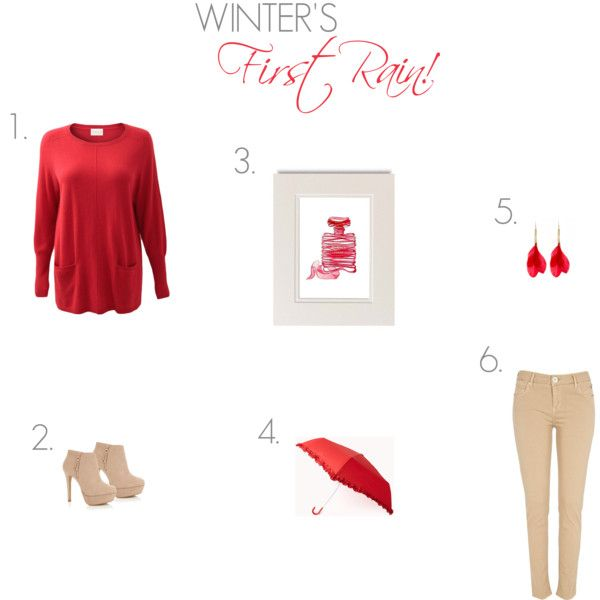 """""""Winter's First Rain!"""" by ladygatsby on Polyvore"""