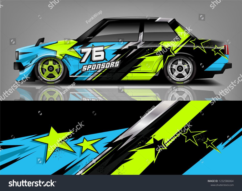 Racing Car Wrap Livery Design  | Motorsport | Car wrap