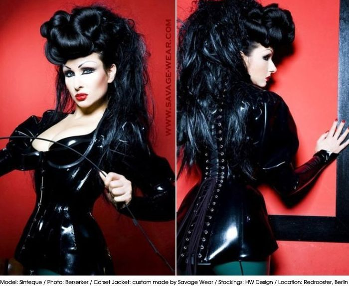 heidi pulkkinen savage wear custom latex fetish clothing berlin models check out. Black Bedroom Furniture Sets. Home Design Ideas