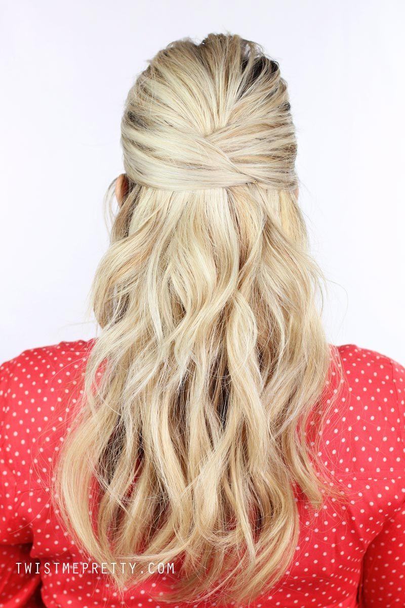 3 Easy Summer Hairstyles My Style Pinterest Peinado Y