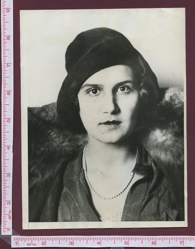 1930 Miss Europe Aliki Diplarakou Greek Goddess Photo