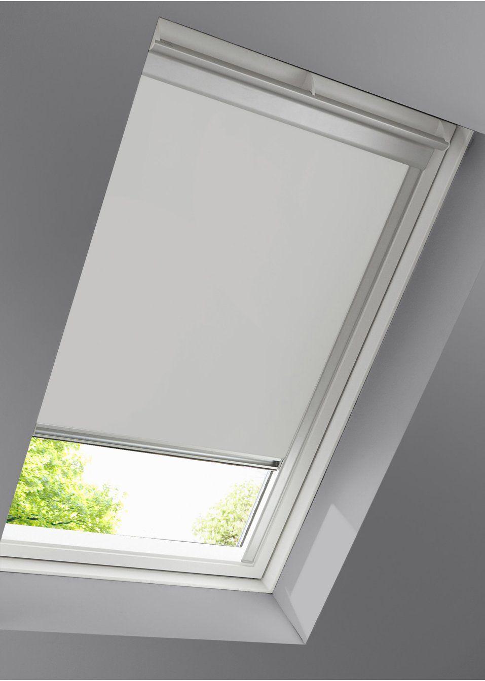 Schlichtes Dachfenster Rollo Zum Verdunkeln Weiss Schiene Dachfenster Rollo Dachfenster Rollo Verdunkelung