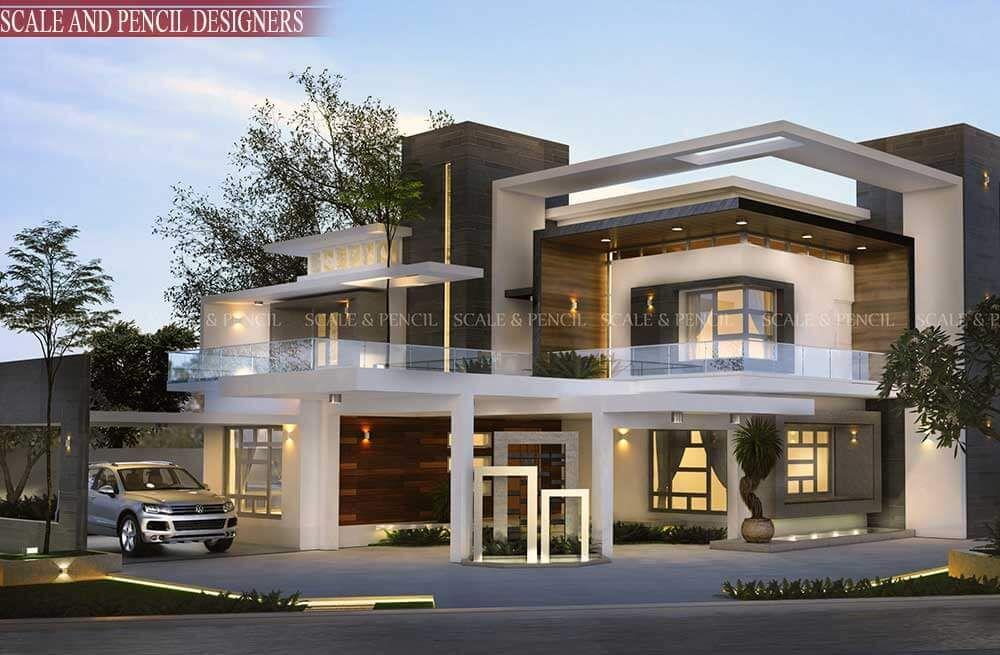 Residential Design Kochi Ernakulam Kerala Modern House Design Home Design Images Modern Exterior House Designs