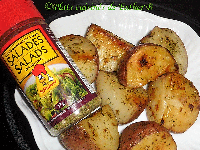 Photo of Esther B's cooked meals: Potatoes seasoned in the oven