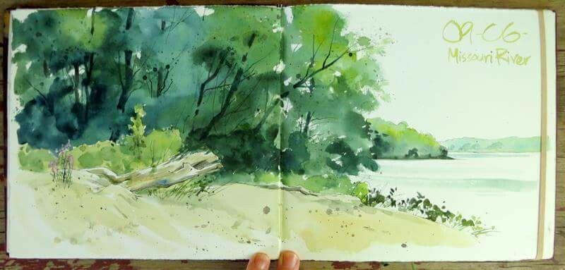 Pin By Dominika K On Sketchbook Ideas Landscape Sketch