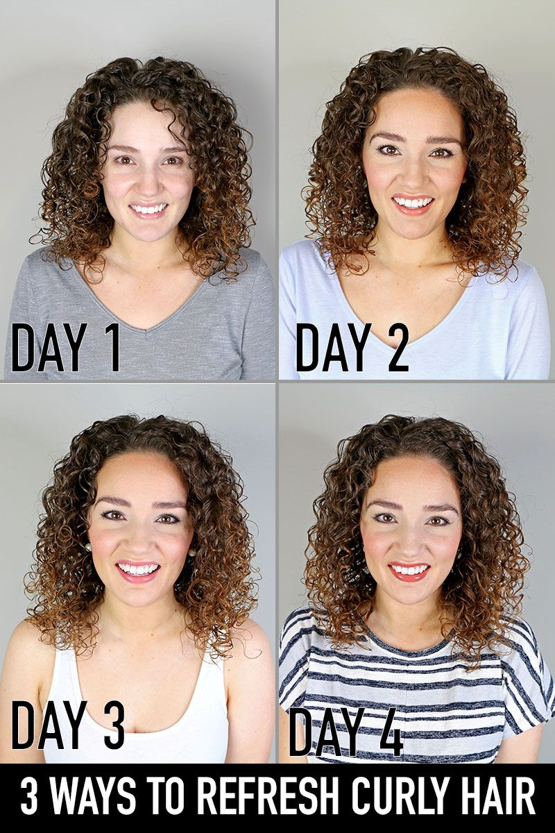 How To Refresh Curly Hair In 2020 Curly Hair Styles Curly Hair Styles Naturally Curly Hair Styles Easy