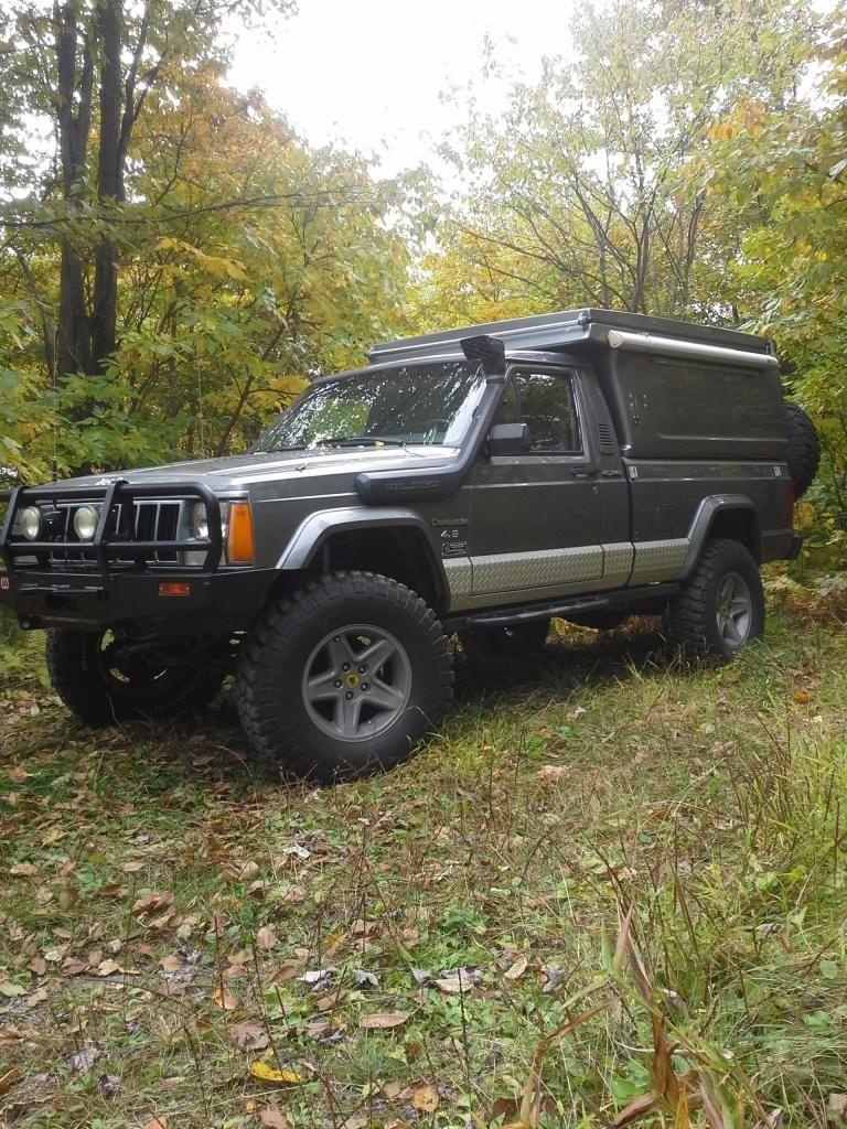 Jeep Mj Overland