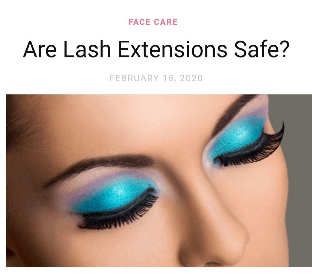 Are lash extensions safe eyelash extensions care lash