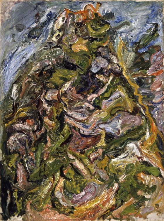 Love Love Love Soutine!!  Chaim Soutine, Hill at Ceret LACMA Collections