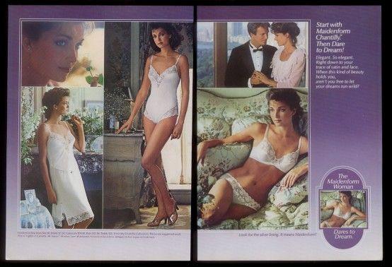a24a561b346db maidenform lingerie ads