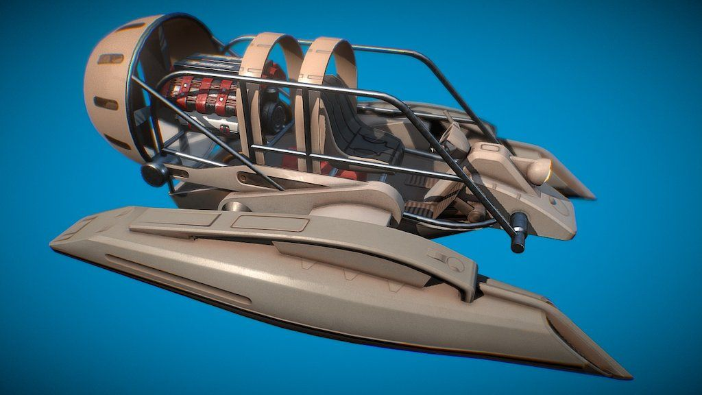 V8 Airboat by McCarthy3D | Staff picks | Pinterest