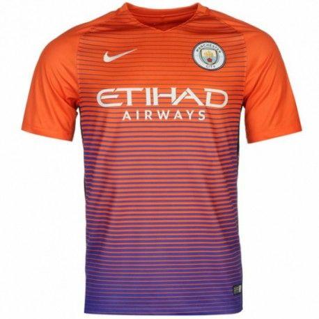 Camiseta del Manchester City Third 2016 2017  72937a2538673