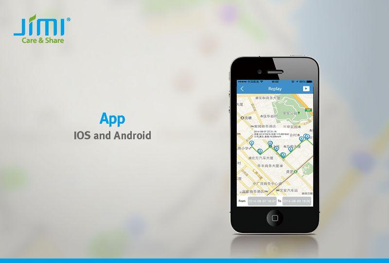 Track with APP | JI08 Senior GPS tracker Phone dual SIM card strong