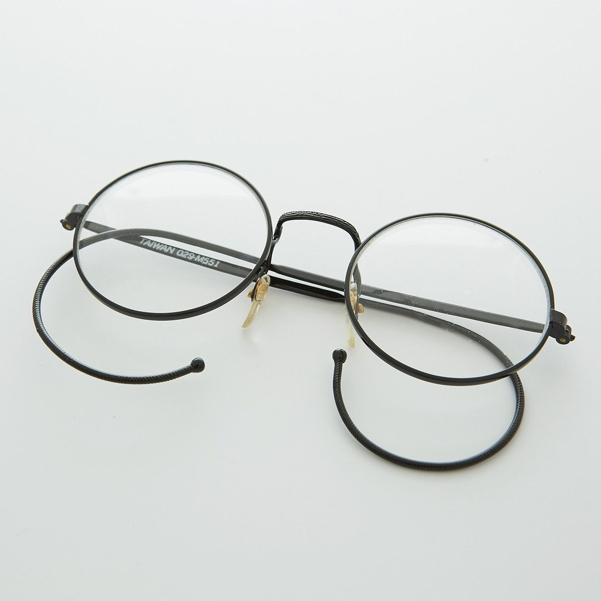 Glasses Frames Cable Temple : Round John Lennon Victorian Spectacle Vintage Eyeglasses ...