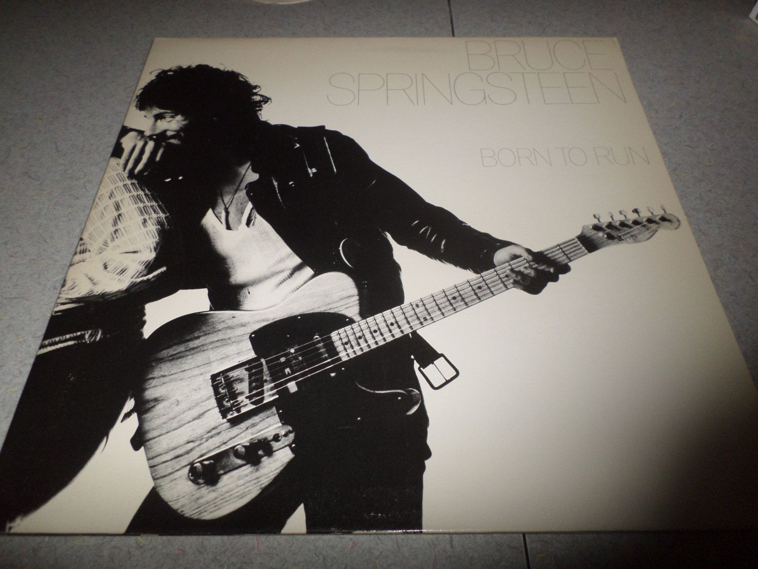 Vintage 1975 Lp Record Born To Run Bruce Springsteen Gatefold Cover Columbia Records Near Mint Condition 2580 Bruce Springsteen Born To Run Vinyl Record Album