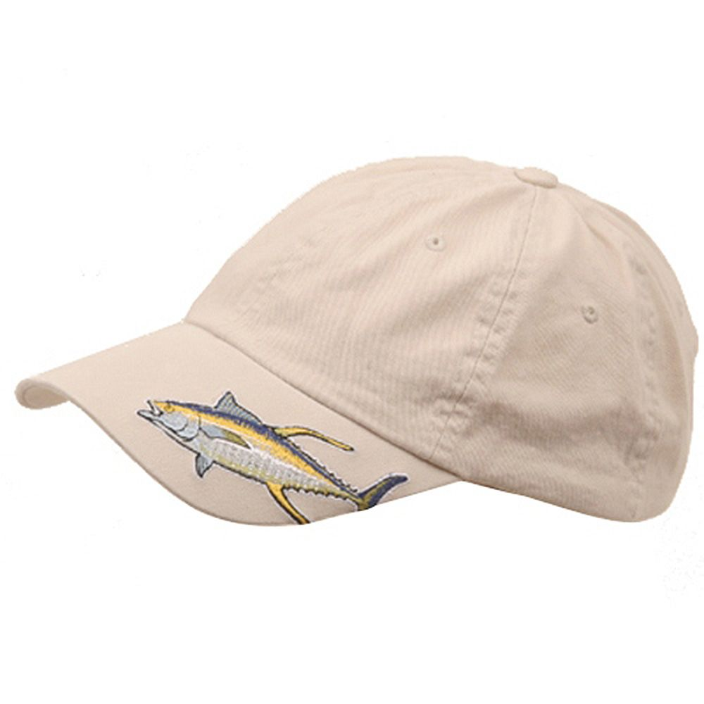 Fishing Theme Cap-Tuna Stone
