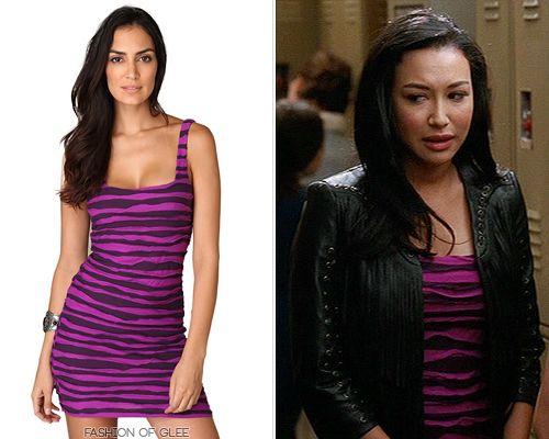 Joka on Santana dating Glee