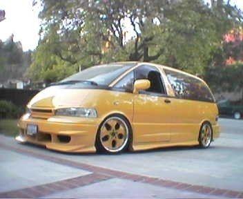 Jdmestima S 1997 Toyota Previa In South El Monte Ca Toyota Previa Toyota Toyota Van