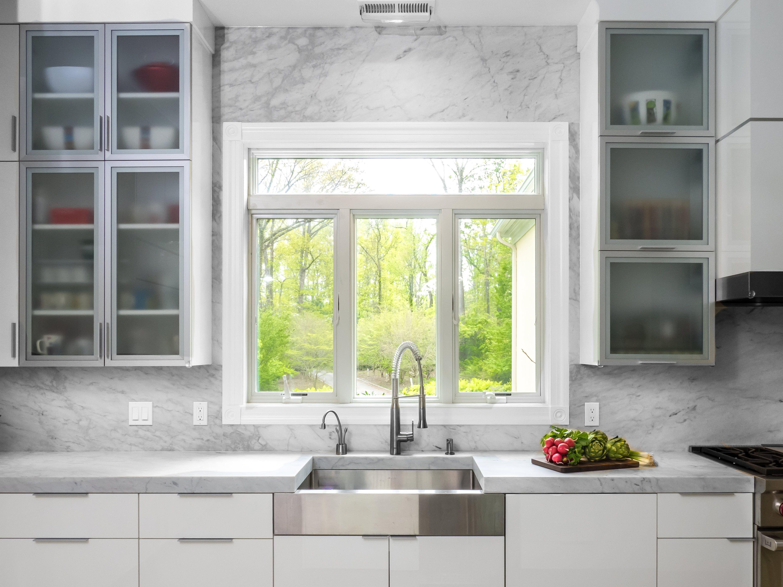Modern Kitchen Renovation Glass Kitchen Cabinet Doors Glass Kitchen Cabinets Aluminum Kitchen Cabinets