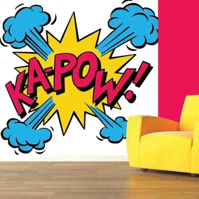 Best Kapow Mural Kapow Digetex Wallpapers Modern Pop Art 400 x 300