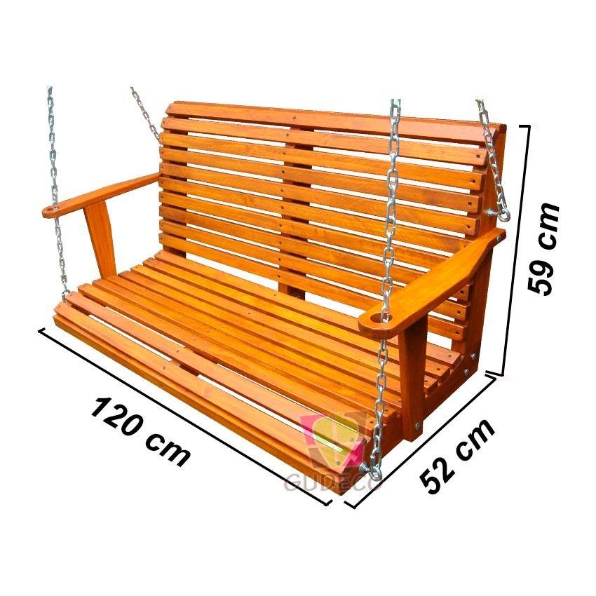 Resultado de imagen para columpios de madera para jardin | Amacas ...