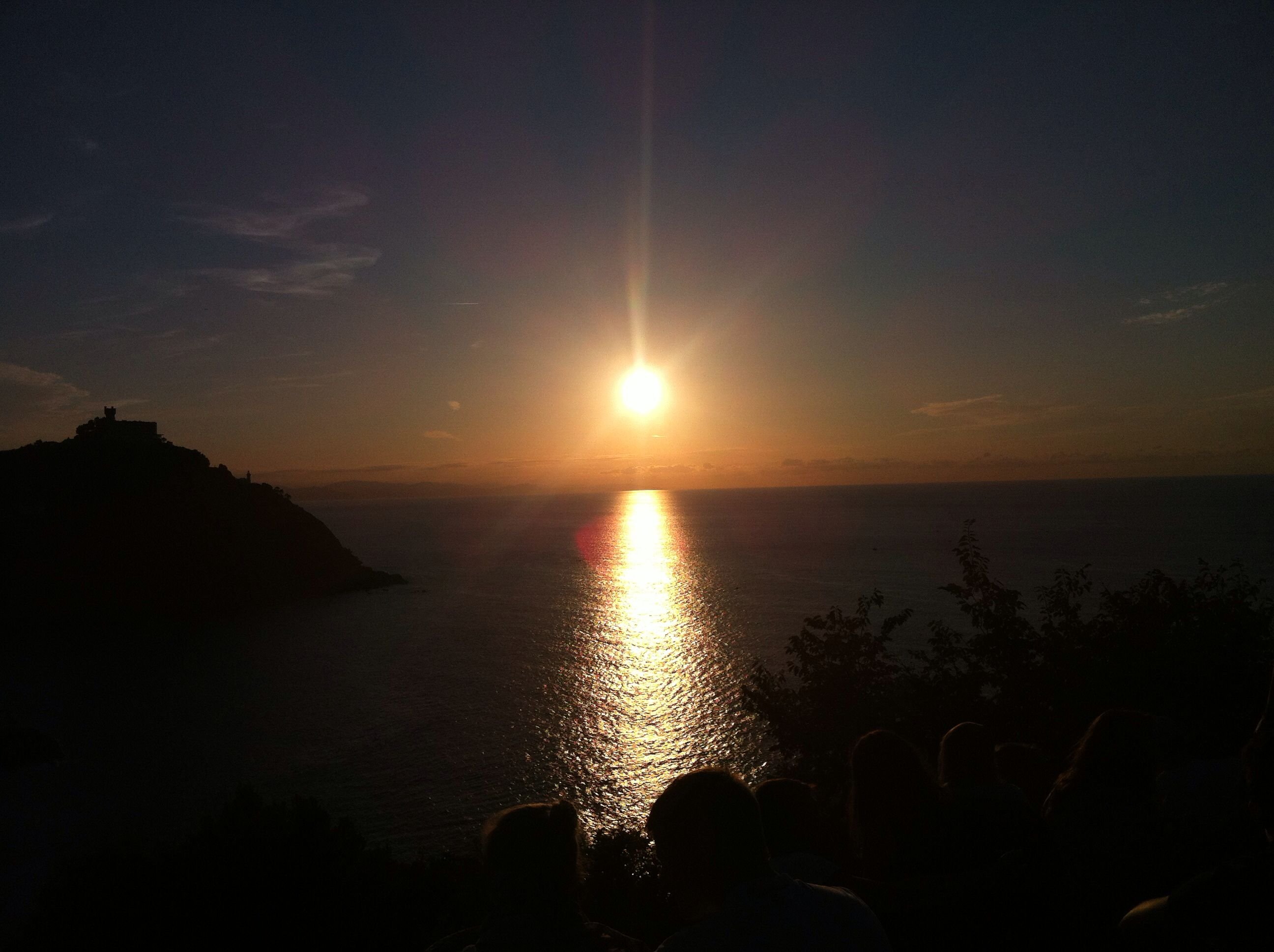 Sunset in San Sebastian / Donostia