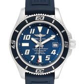 Breitling Superocean Blue Dial Limited Edition Watch A17364 Box Papers  SwissWa Breitling Superocean Blue Dial Limited Edition Watch A17364 Box Papers  SwissWa