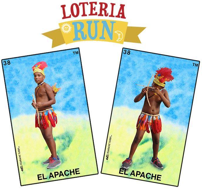 el apache loteria mexicanbingo run costumes loteria run