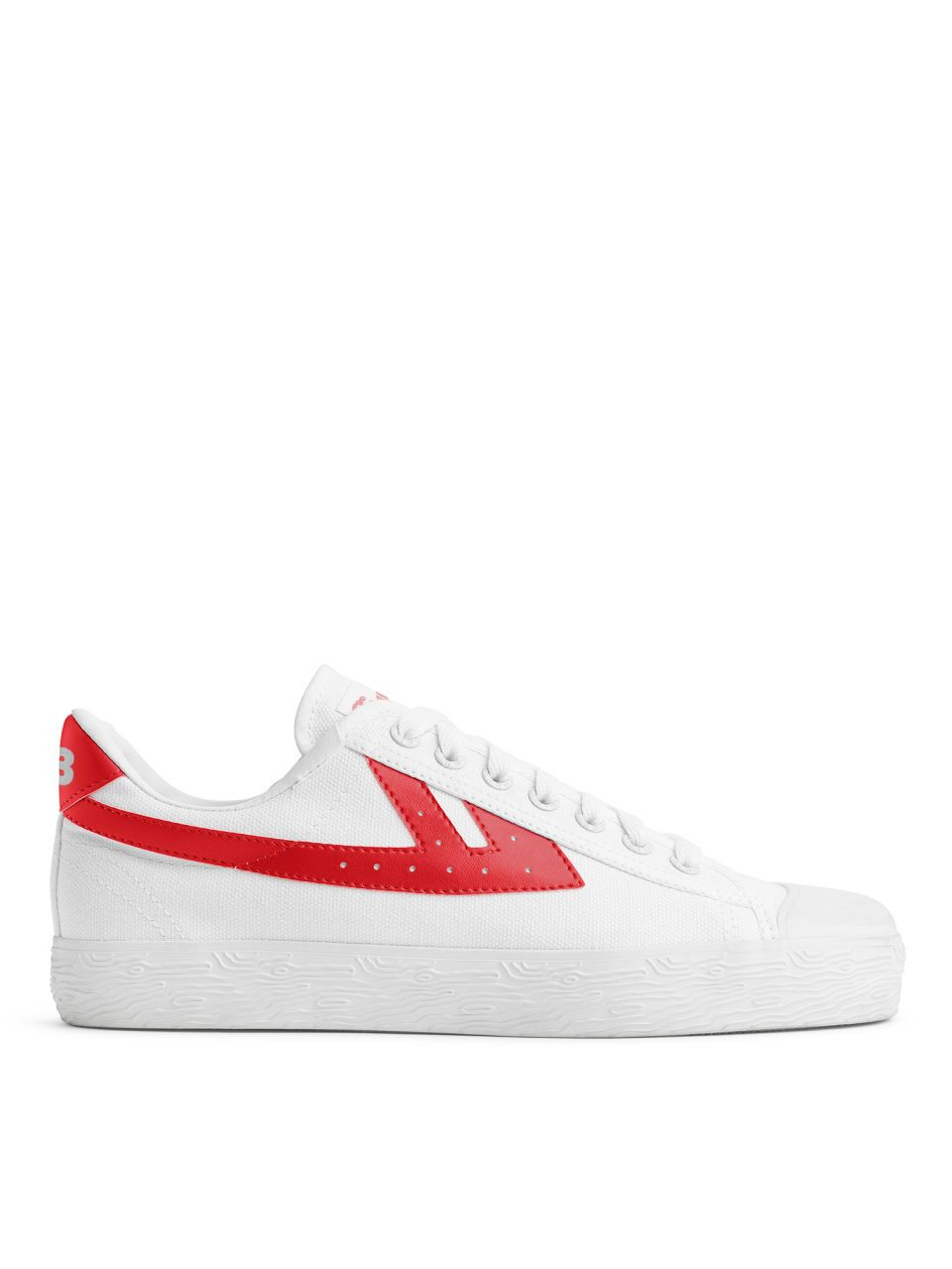 WOS33 Trainers White Red Shoes (With images) | Red shoes