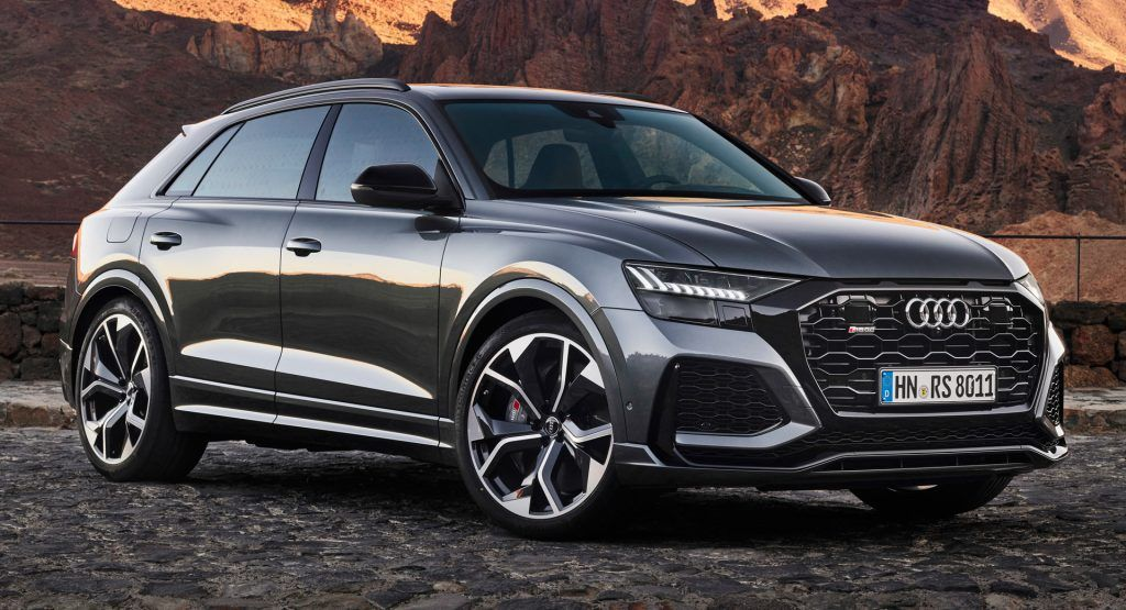 2020 Audi Rs Q8 Packs 591 Hp And A 113 000 Price Tag Carscoops In 2020 Audi Rs Audi Car Model