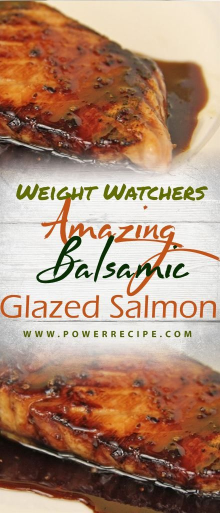 Amazing Balsamic Glazed Salmon - All about Your Power Recipes