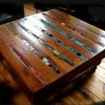 Mosaic Pallet Coffee Table • 1001 Pallets