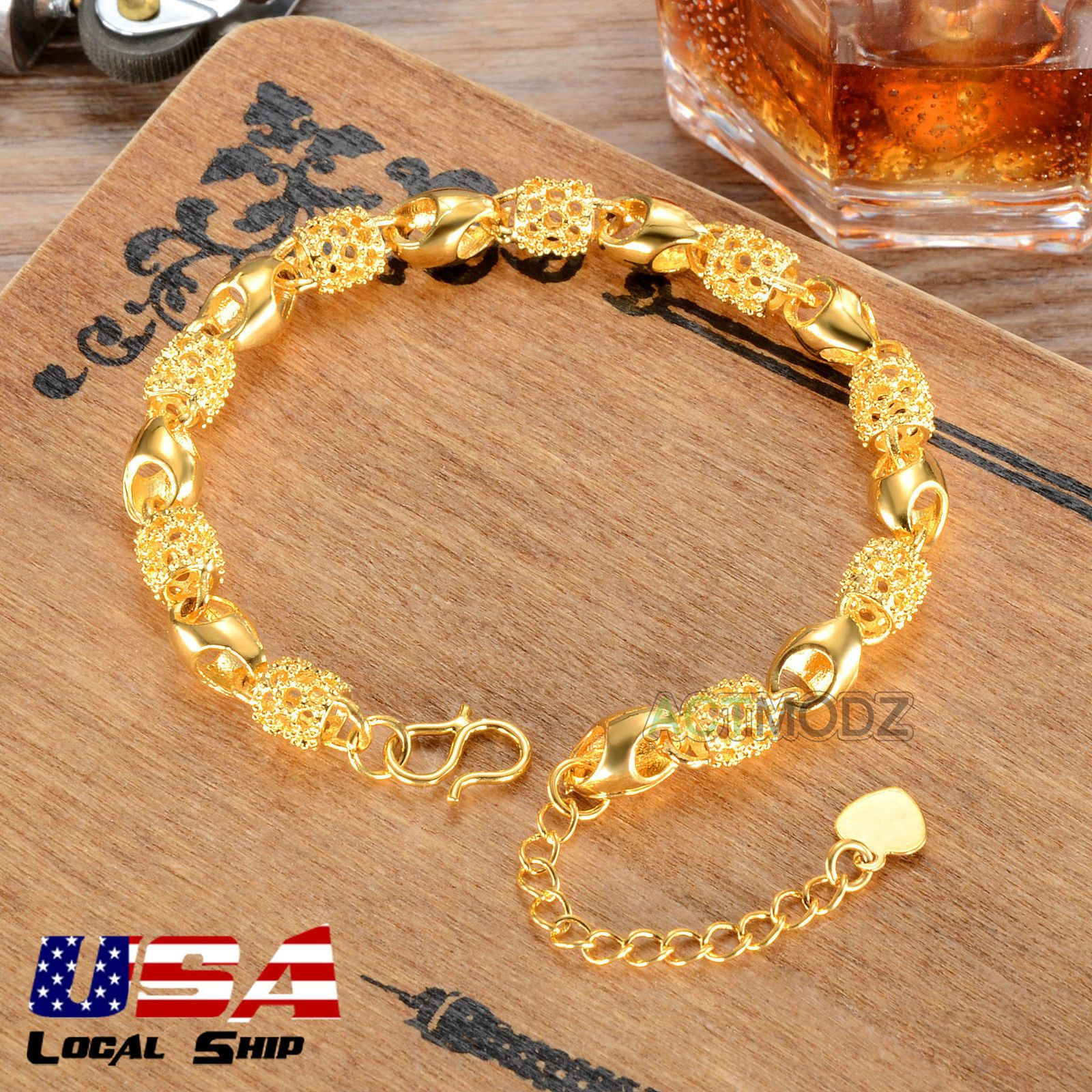 Women Fashion Chain Bracelet In Gold Plated Jewelry for Girls